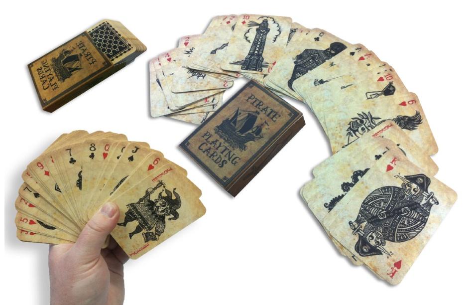 קלפים עם הדפסה | חפיסת קלפים | משחק קלפים