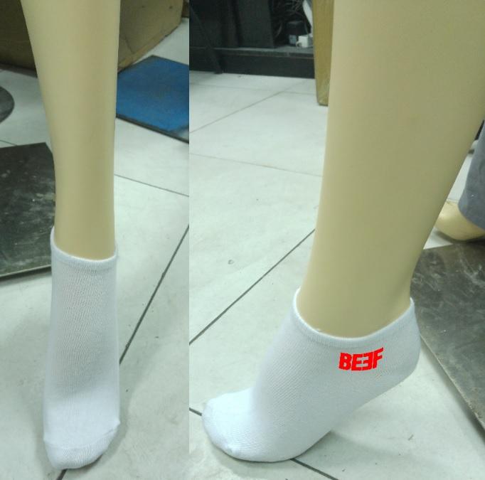 גרביים עם כיתוב