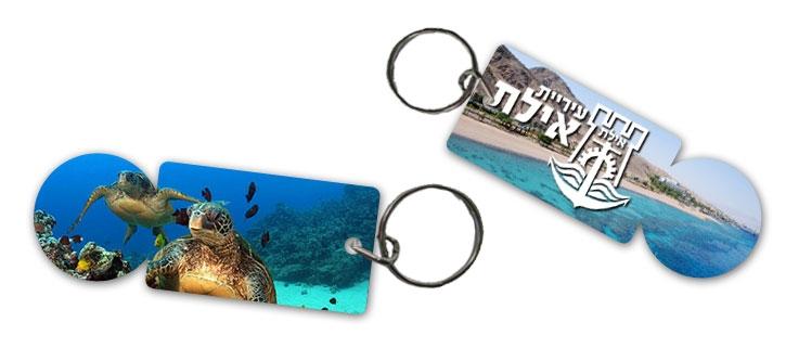 משחרר עגלות | מחזיק מפתחות עם תמונה דיגיטלית