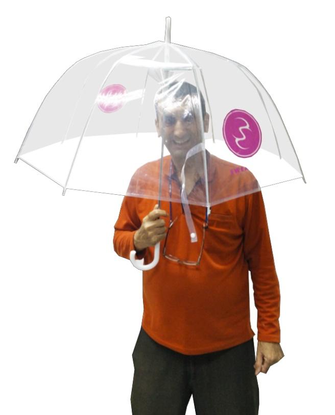 מטריות שקופות למבוגרים