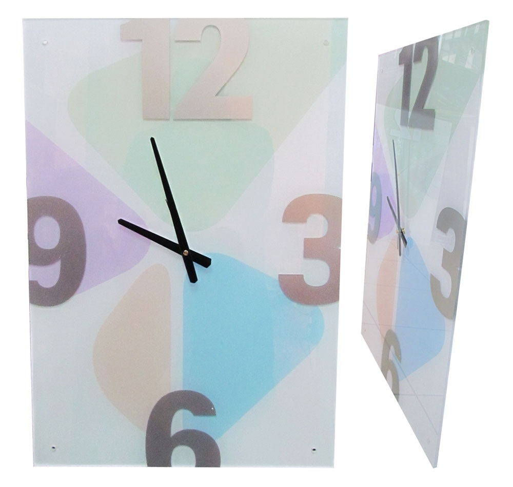 שעון תמונה צבעונית | שעונים מעוצבים לקיר