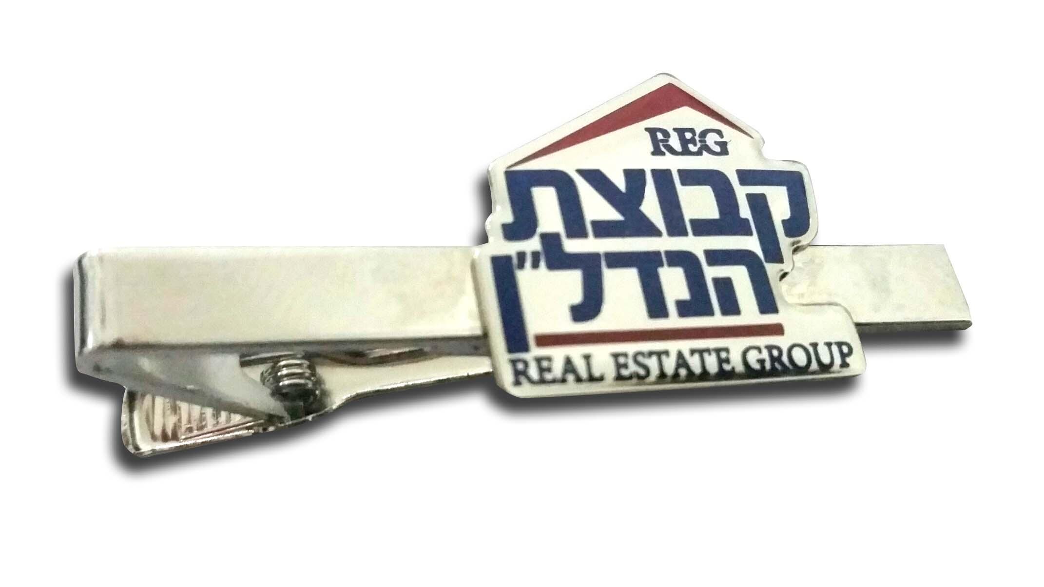 סיכת עניבה עם לוגו   סיכה לעניבה