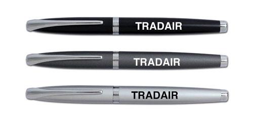 בושידו רולר עט מתכת מפואר עם מילוי רולר