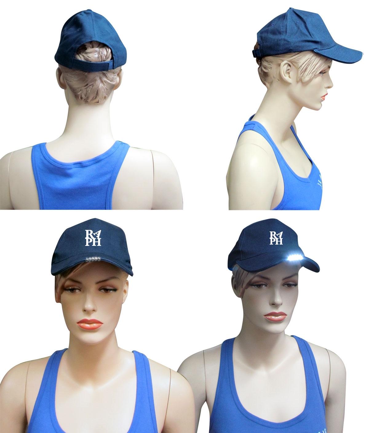 כובע עם פנס | כובעים | כובע מיוחד | כובע