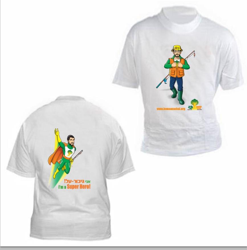 הדפסת לוגו על חולצות מנדפות זיעה