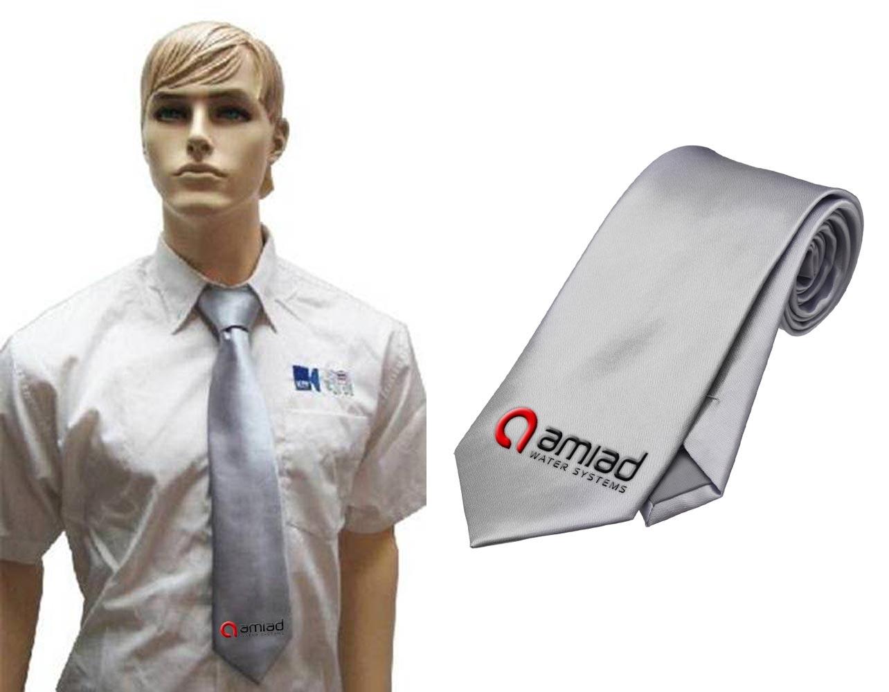 עניבה אפורה