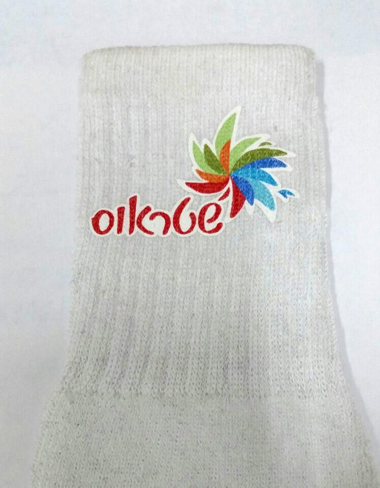 גרביים עם הדפס   גרבי ספורט