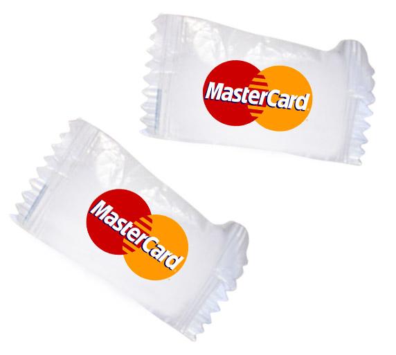 סוכריות עם  לוגו | סוכריות עם הדפסה