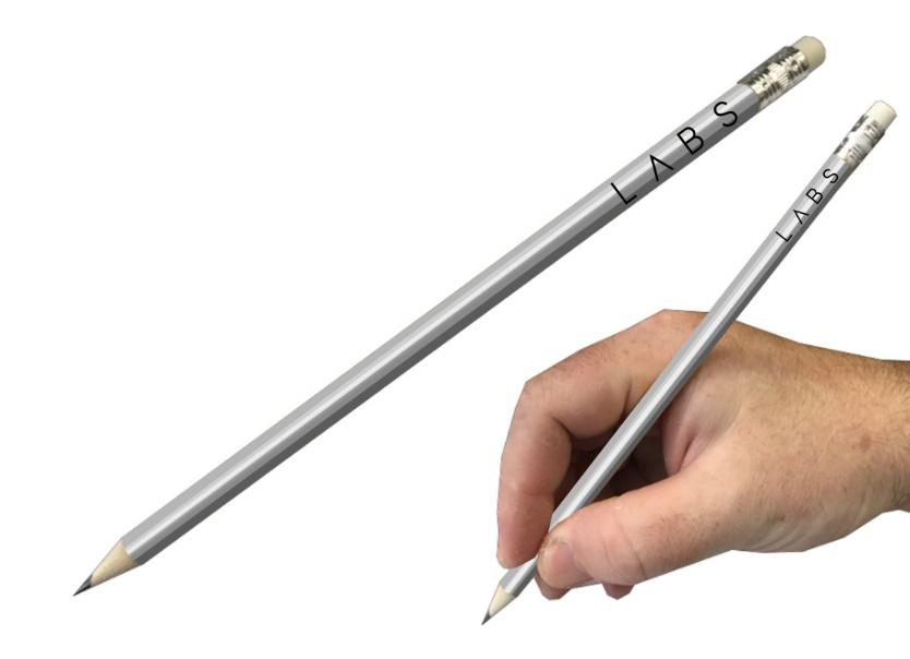 הדפסה על עיפרון | עפרון כסוף