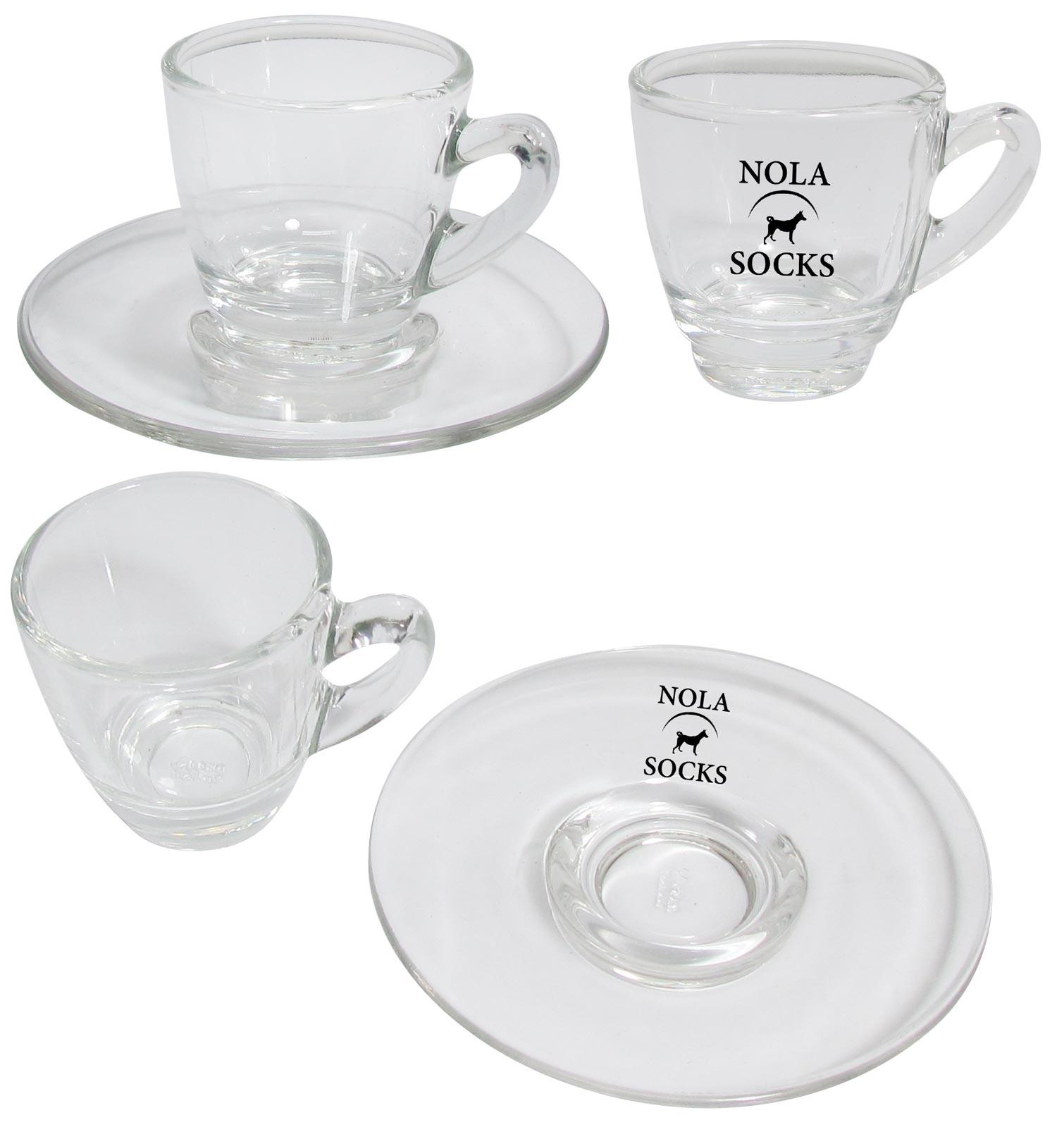 כוס אספרסו זכוכית