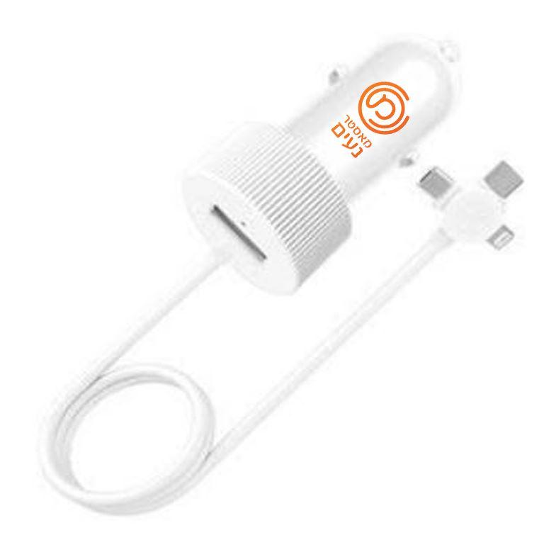 מפצל USB לרכב