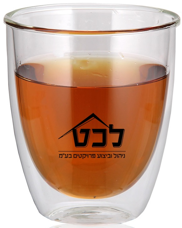 ספל זכוכית דופן כפולה | כוסות לתה