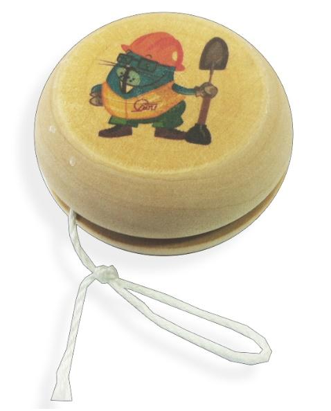 משחק יויו מעץ | מתנות ממותגות לבת מצווה