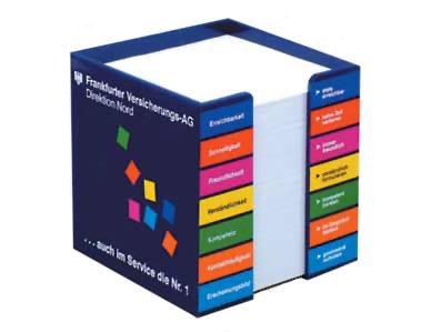 קופסת קרטון עם הדפס צבעוני