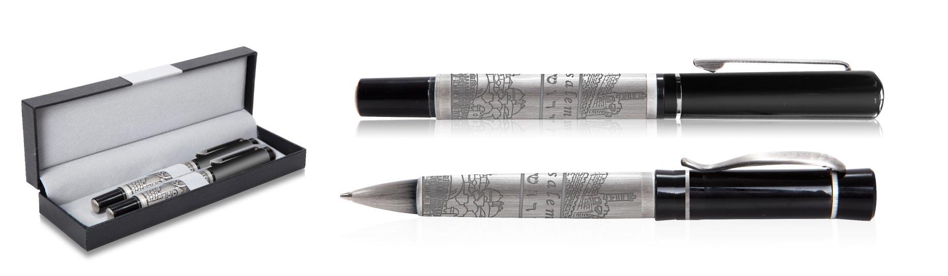 חריטת על עטים | סט עטים יוקרתי