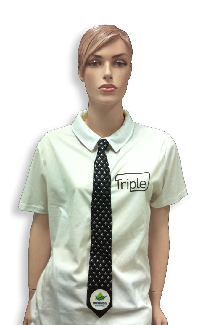 עניבה בעיצוב אישי