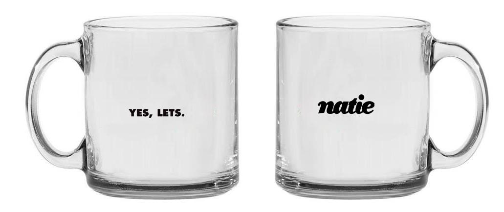 כוסות זכוכית | כוסות בעיצוב אישי