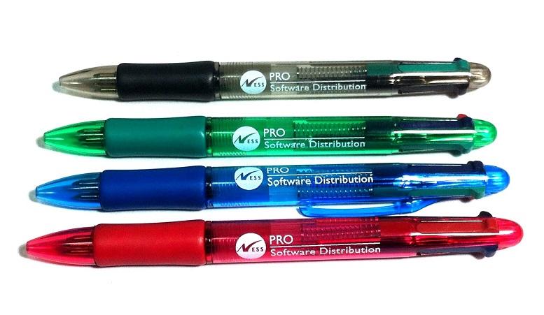 עטים מיוחדים | עט 4 צבעים