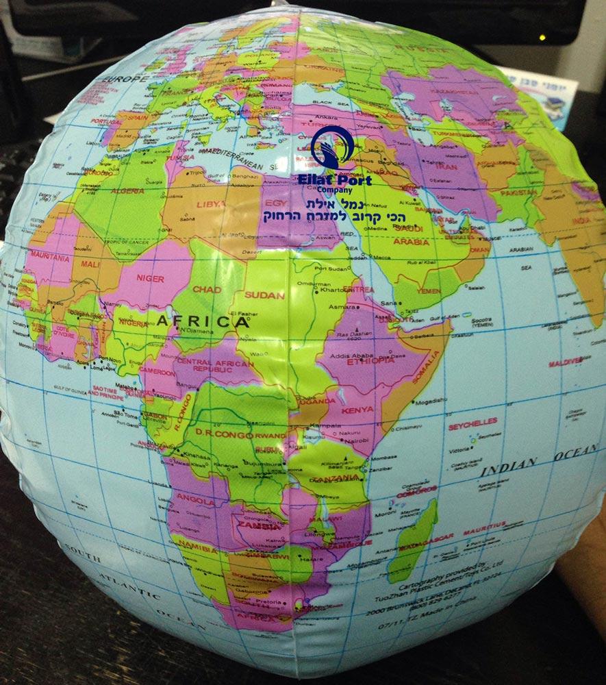כדור עולם מתנפח