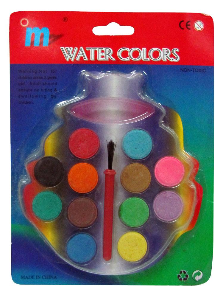 ערכת צבעי מים לילדים