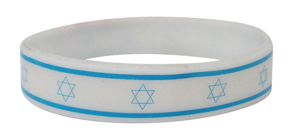 צמיד סיליקון | צמידים דגל ישראל