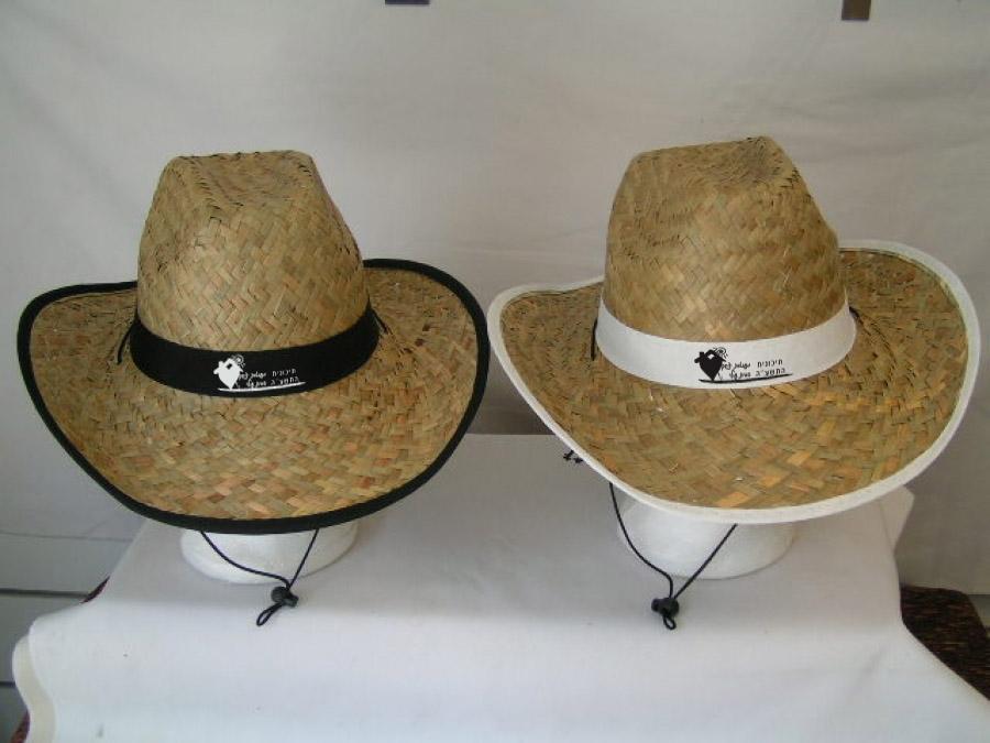 כובעי קש | מתנות ממותגות לאירועים