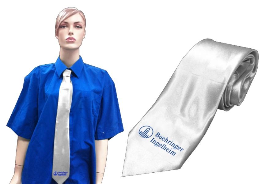 עניבה בצבע כסף | עניבה מוכספת