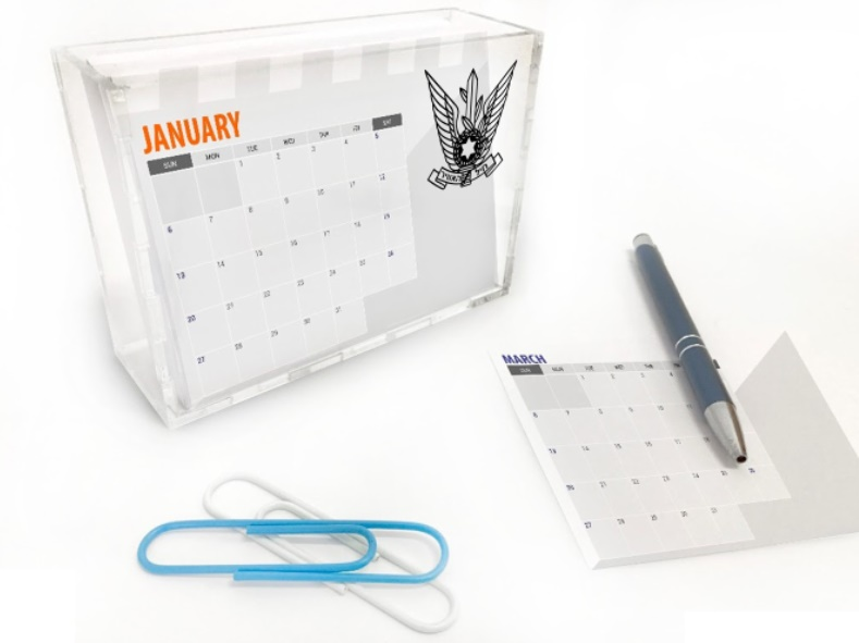 לוח שנה מעוצב בוקס