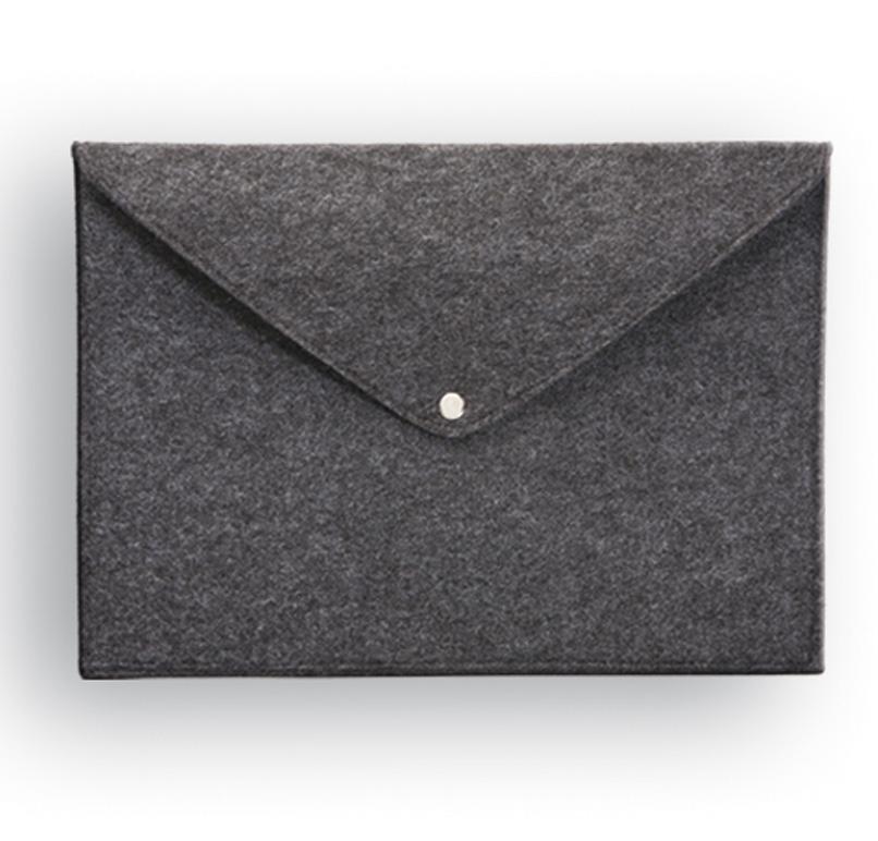 תיק מעטפה מבד קנבס