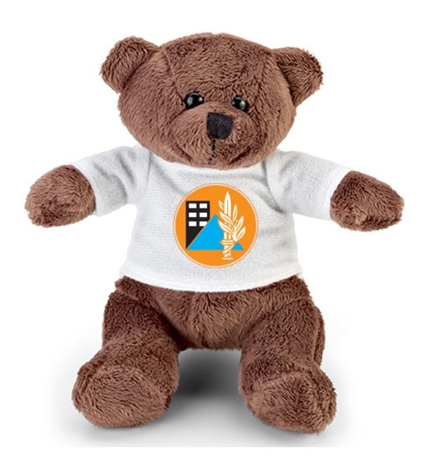 דובי עם תמונה | בובת פרווה  דובי ממותג