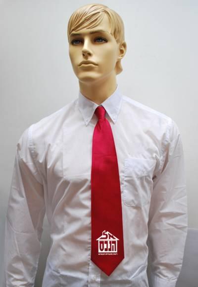 הדפסה על עניבות | עניבה אדומה