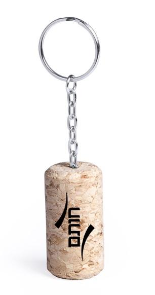 מחזיקי מפתחות מיוחדים | מחזיק פקק שעם