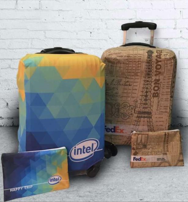 כיסוי מזוודה ממותג