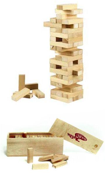משחק עץ למנהלים | קוביות מעץ | משחקי מחשבה