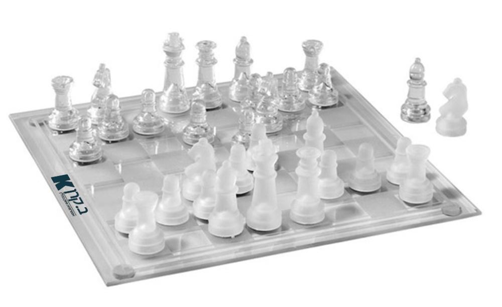 לוח שחמט   משחק שחמט מזכוכית