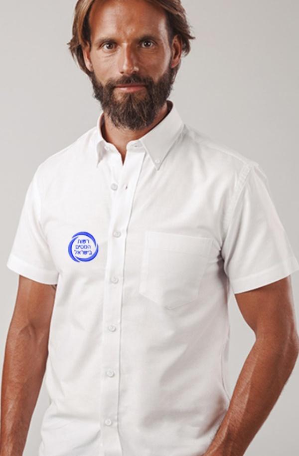 חולצות אלגנט | חולצה מחויטת רקומה