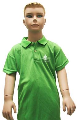 הדפסה על חולצה ירוקה
