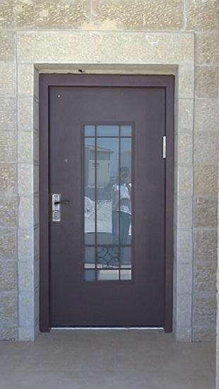 דלת דגם פרח תחתון