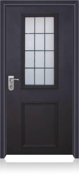 דלת עם חלון דגם פנורמה