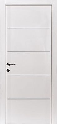 דלת פנים - דלת שלייפ לק עם חריטות לרוחב הדלת