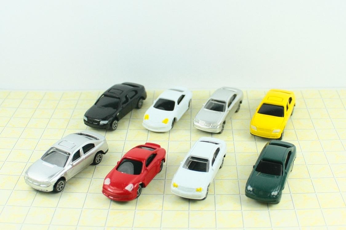 10 יח' מכוניות קנ''מ 1:100 דגם 3501