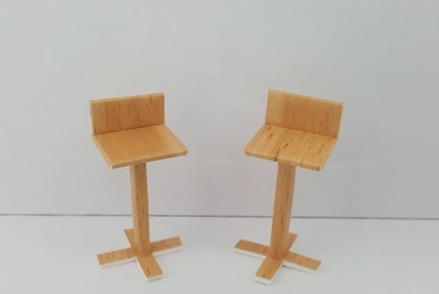 כסא בר דגם שקד קנ''מ 1:25