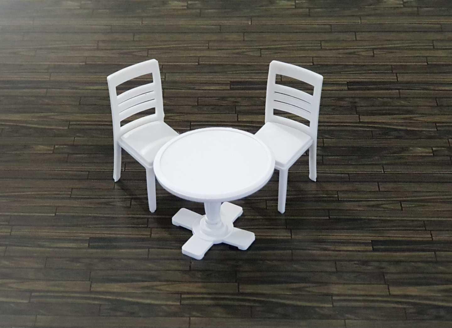 סט שולחן + 2 כסאות קנ