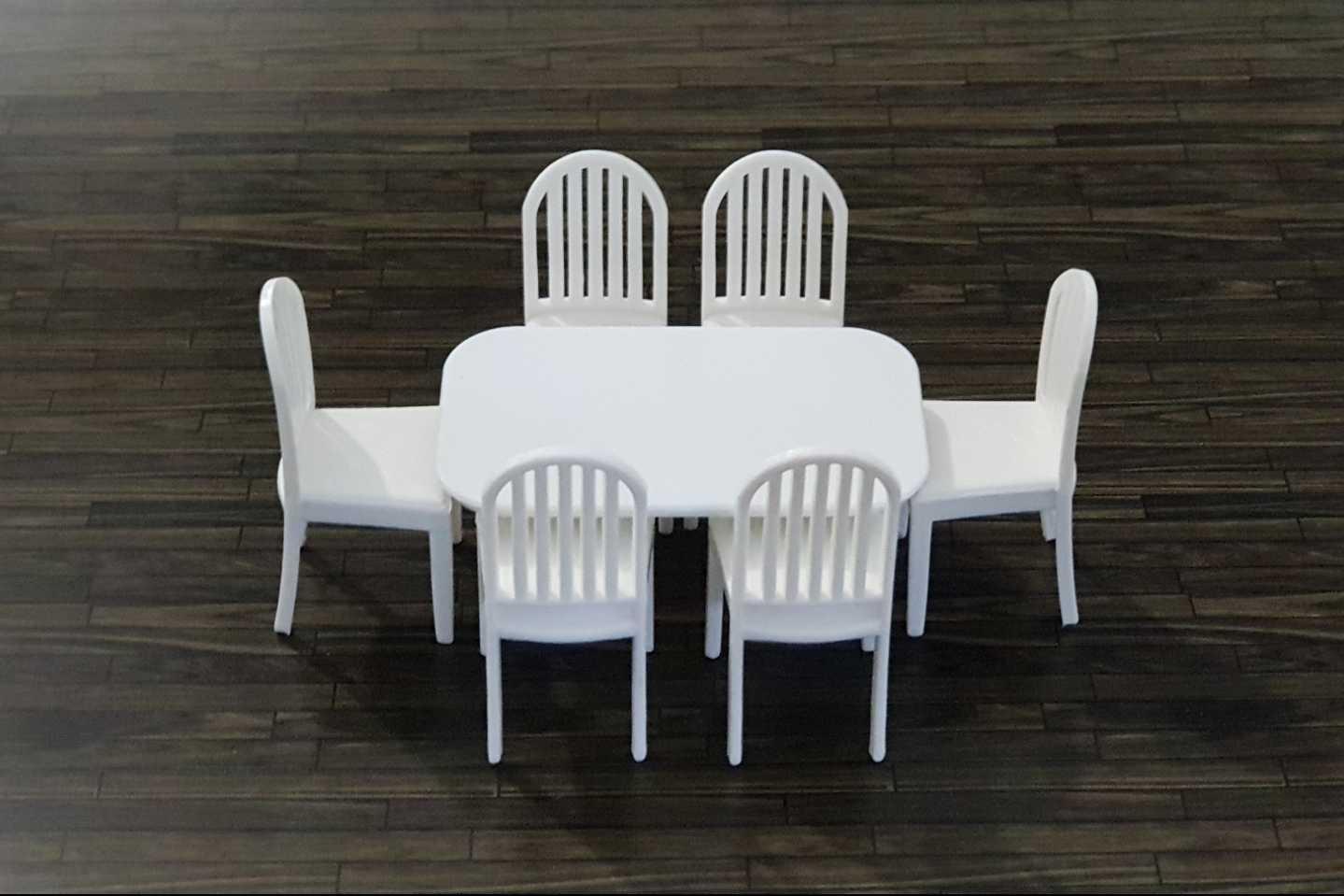 סט שולחן + 6 כסאות קנ