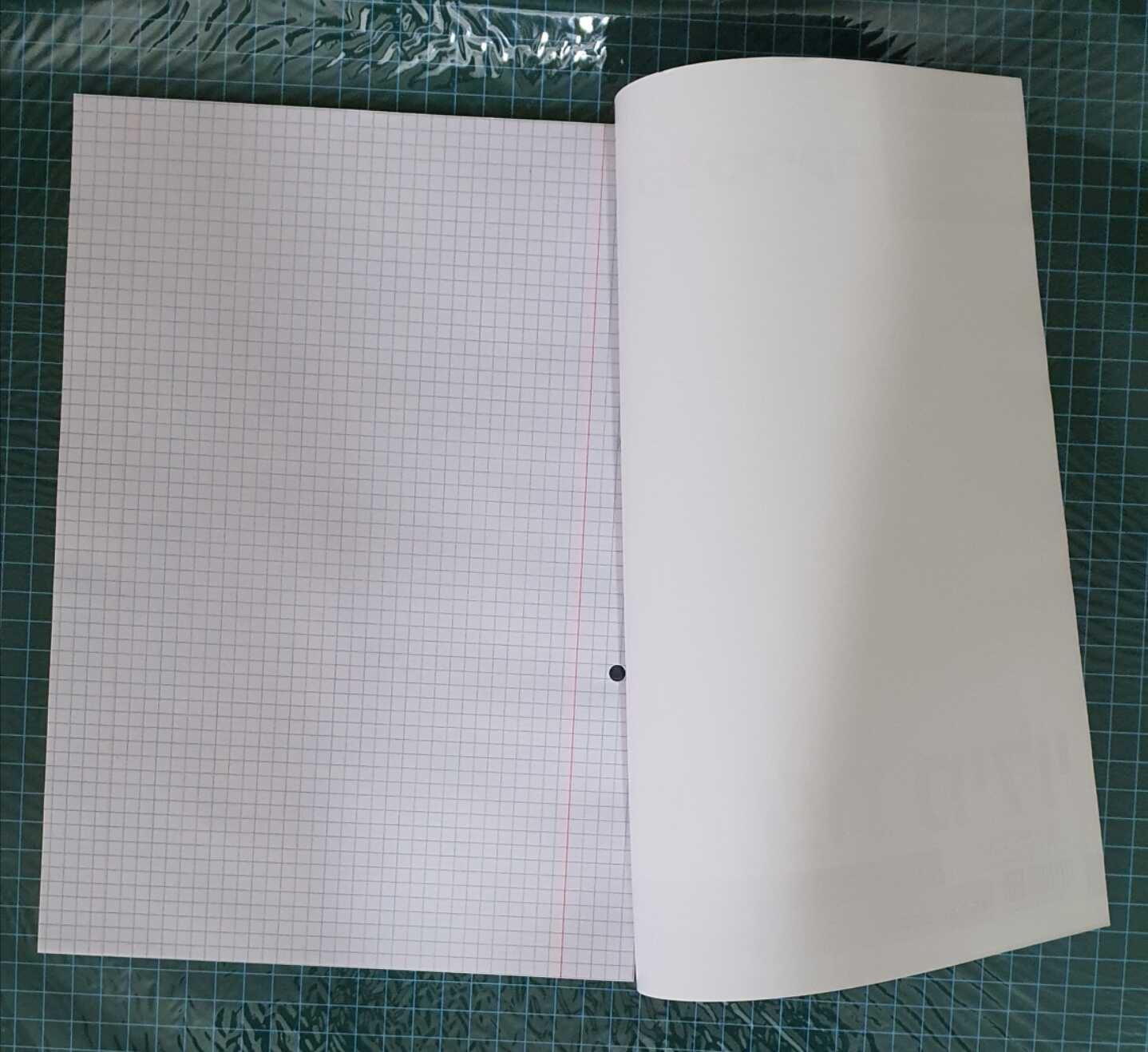 דפדפת 40 דף גודל F משובץ ###