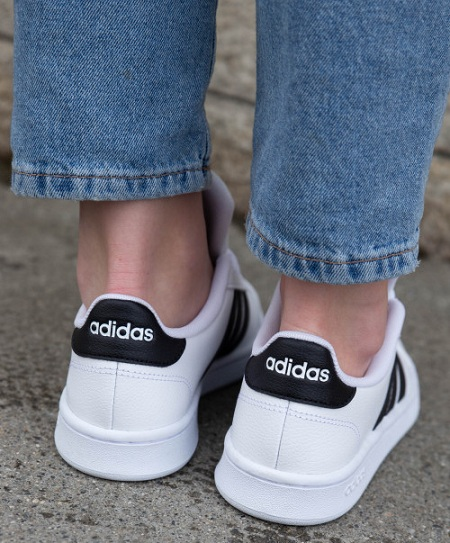 נעלי אדידס אופנה נשים נוער Adidas Grand Court - תמונה 2
