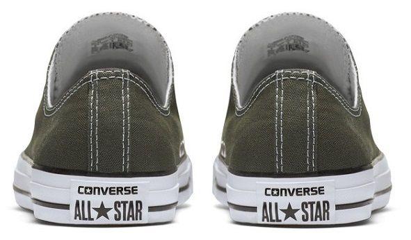 נעלי אולסטאר אפור חצי נשים גברים Converse charcoal - תמונה 4