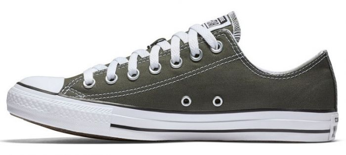 נעלי אולסטאר אפור חצי נשים גברים Converse charcoal - תמונה 3