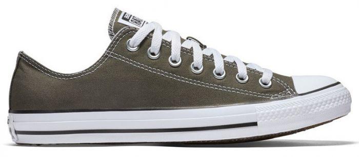 נעלי אולסטאר אפור חצי נשים גברים Converse charcoal - תמונה 2