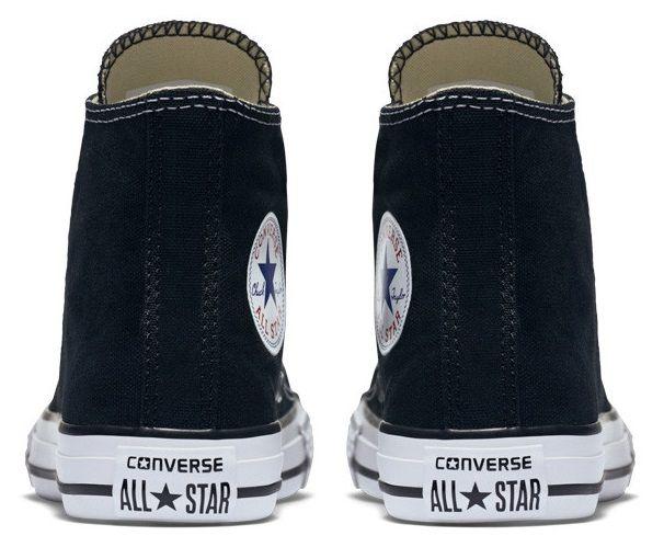 נעלי אולסטאר ילדים ילדות שחור Converse Black - תמונה 4